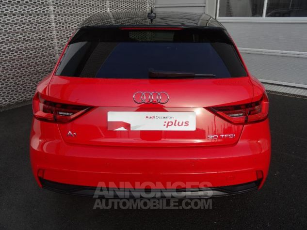 Audi A1 Sportback 30 TFSI 116ch Design Luxe S tronic 7 ROUGE MISANO Occasion - 4