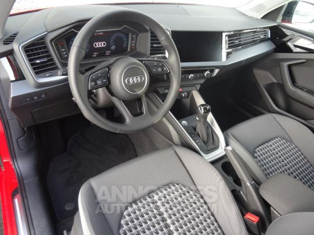 Audi A1 Sportback 30 TFSI 116ch Design Luxe S tronic 7 ROUGE MISANO Occasion - 12