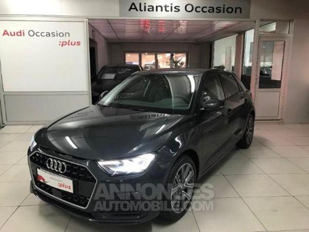 Audi A1 Sportback 30 TFSI 116ch Design Luxe S tronic 7 GRIS MANHATTAN METALLISE Occasion - 0