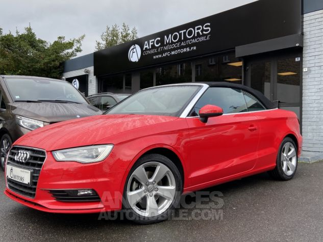 Audi A3 Cabriolet 2.0 TDI 150 Ambition S-tronic 6 ROUGE Occasion - 0