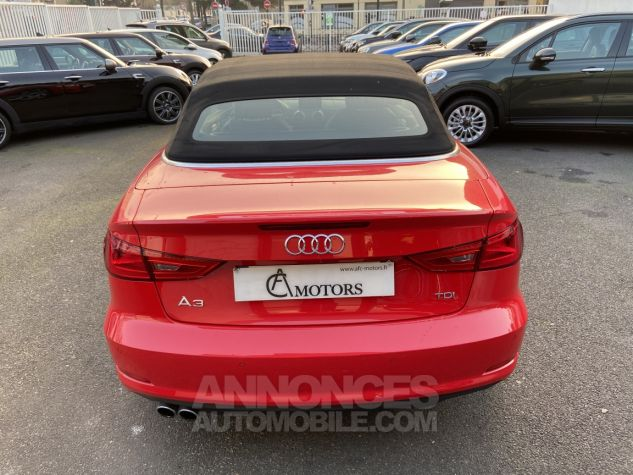Audi A3 Cabriolet 2.0 TDI 150 Ambition S-tronic 6 ROUGE Occasion - 2