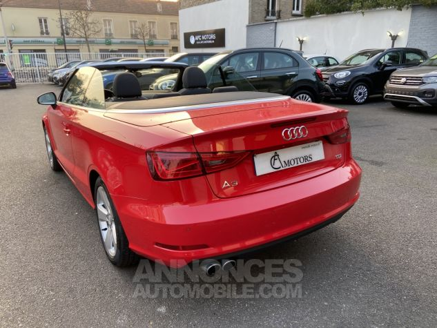Audi A3 Cabriolet 2.0 TDI 150 Ambition S-tronic 6 ROUGE Occasion - 3