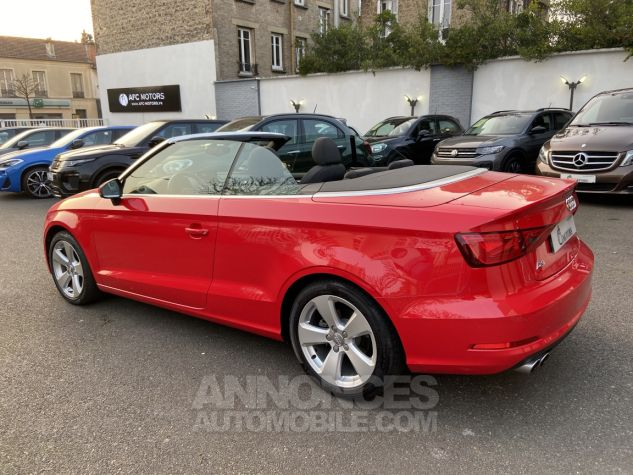 Audi A3 Cabriolet 2.0 TDI 150 Ambition S-tronic 6 ROUGE Occasion - 4