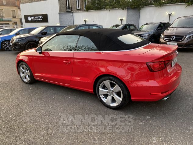 Audi A3 Cabriolet 2.0 TDI 150 Ambition S-tronic 6 ROUGE Occasion - 5
