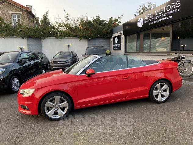 Audi A3 Cabriolet 2.0 TDI 150 Ambition S-tronic 6 ROUGE Occasion - 6