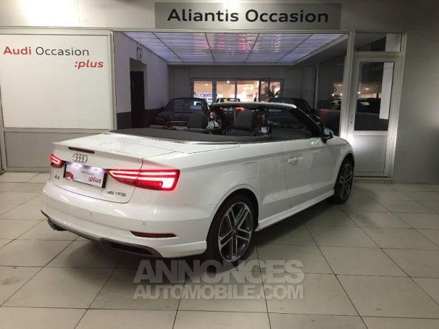 Audi A3 Cabriolet 35 TFSI 150ch Design luxe S tronic 7 Euro6d-T blanc ibis capote noire Occasion - 2