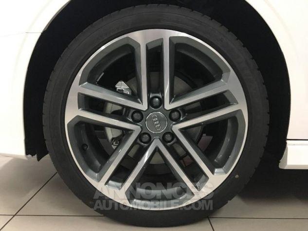 Audi A3 Cabriolet 35 TFSI 150ch Design luxe S tronic 7 Euro6d-T blanc ibis capote noire Occasion - 11