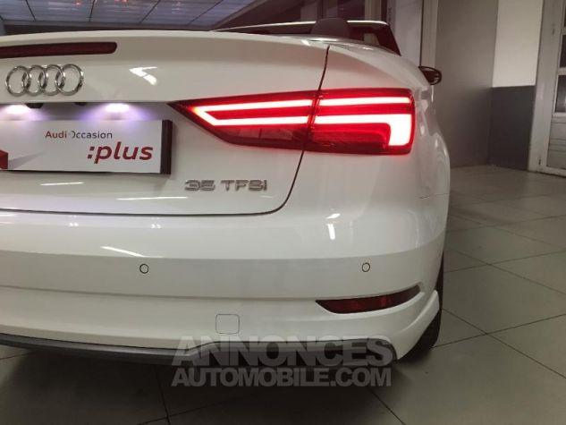 Audi A3 Cabriolet 35 TFSI 150ch Design luxe S tronic 7 Euro6d-T blanc ibis capote noire Occasion - 19