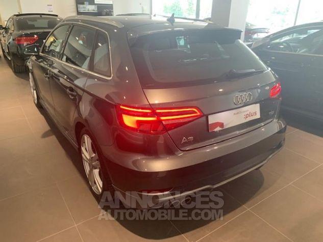 Audi A3 Sportback 2.0 TDI 150ch S line S tronic 6 Gris Daytona Arche Noir Occasion - 7