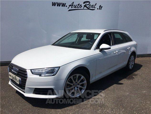 Audi A4 Avant 2.0 TDI 150 S TRONIC 7 Business Line Blanc Occasion - 0