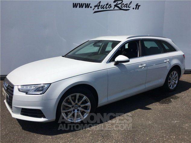 Audi A4 Avant 2.0 TDI 150 S TRONIC 7 Business Line Blanc Occasion - 1