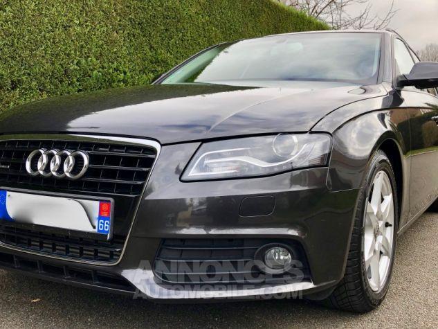 Audi A4 Avant 240ch DPF AMBITION LUXE QUATTRO STRONIC  Gris foncé métal Occasion - 0