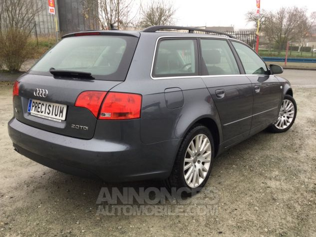 Audi A4 Avant Ambition Luxe Grise Occasion - 4