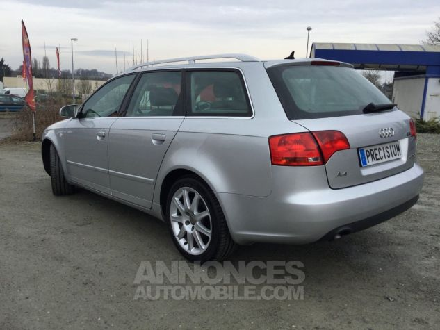 Audi A4 Avant Quattro Gris Occasion - 3