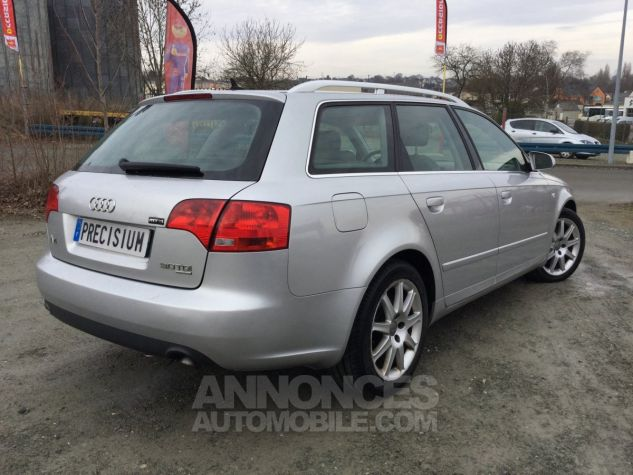 Audi A4 Avant Quattro Gris Occasion - 4