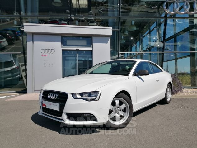 Audi A5 1.8 TFSI 170 Attraction Blanc Occasion - 0