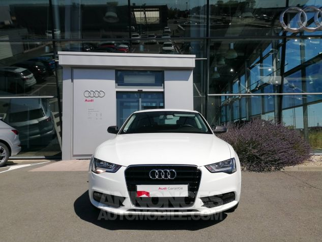 Audi A5 1.8 TFSI 170 Attraction Blanc Occasion - 1