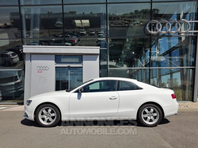 Audi A5 1.8 TFSI 170 Attraction Blanc Occasion - 2