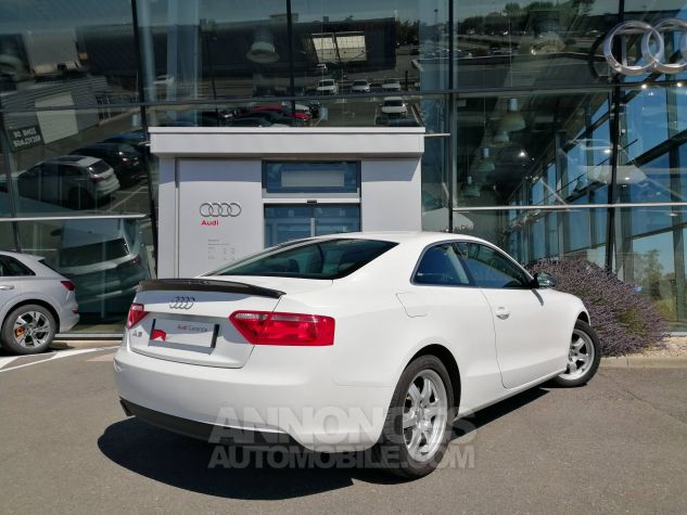 Audi A5 1.8 TFSI 170 Attraction Blanc Occasion - 3