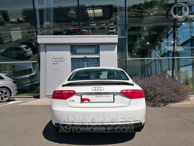 Audi A5 1.8 TFSI 170 Attraction Blanc Occasion - 4