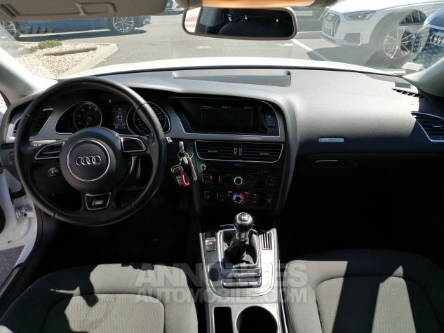 Audi A5 1.8 TFSI 170 Attraction Blanc Occasion - 6