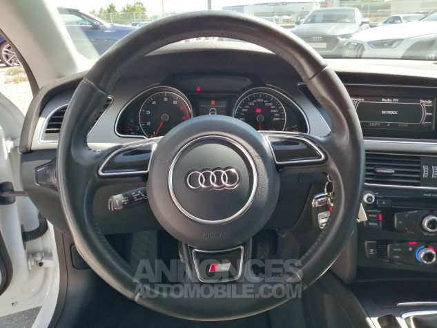 Audi A5 1.8 TFSI 170 Attraction Blanc Occasion - 8