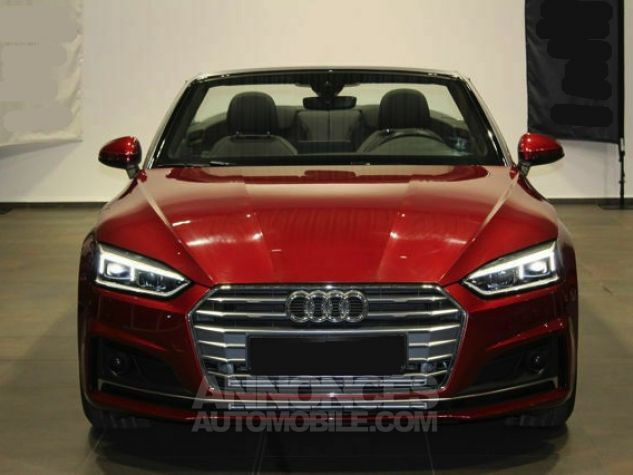 Audi A5 2.0 TFSI 190 CH S TRONIC CABRIOLET 2X S LINE Rouge Occasion - 2