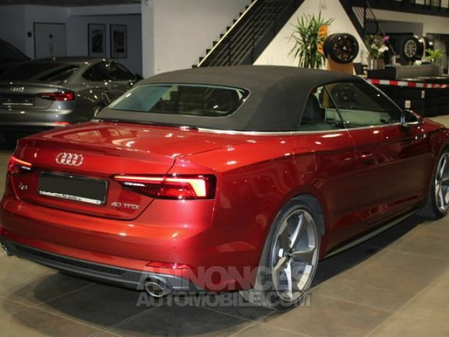 Audi A5 2.0 TFSI 190 CH S TRONIC CABRIOLET 2X S LINE Rouge Occasion - 16