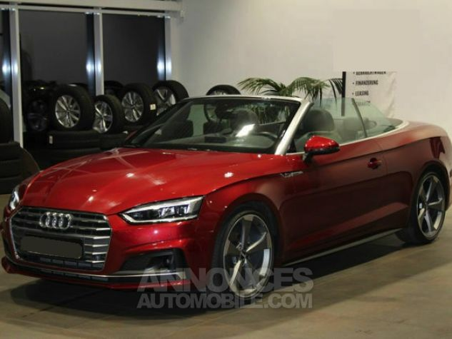 Audi A5 2.0 TFSI 190 CH S TRONIC CABRIOLET 2X S LINE Rouge Occasion - 17
