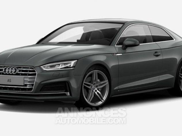 Audi A5 Coupé V6 3L TDI Full S line 2018 gris métallisé Occasion - 0