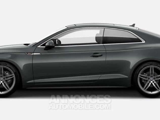 Audi A5 Coupé V6 3L TDI Full S line 2018 gris métallisé Occasion - 1