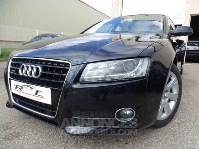 Audi A5 Sportback 3.0L TDI 240Ps V6 Sportback/PDC Bixénon  GPS Bluetooth  Cd .... noir metallisé Occasion - 1