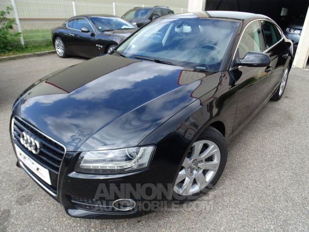Audi A5 Sportback 3.0L TDI 240Ps V6 Sportback/PDC Bixénon  GPS Bluetooth  Cd .... noir metallisé Occasion - 2