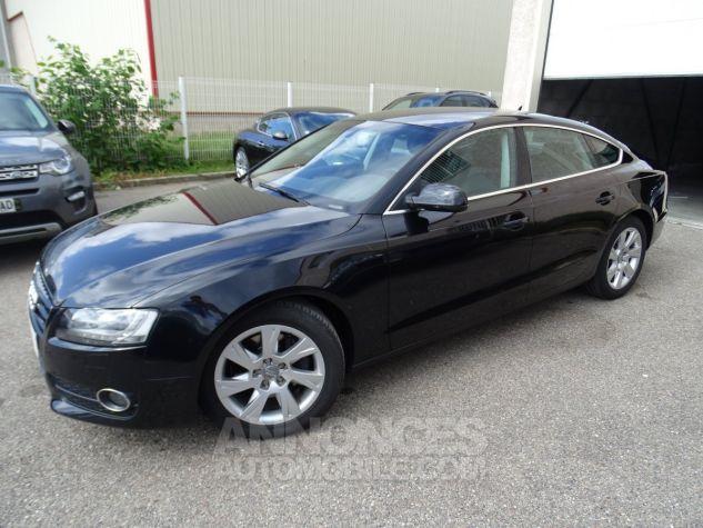 Audi A5 Sportback 3.0L TDI 240Ps V6 Sportback/PDC Bixénon  GPS Bluetooth  Cd .... noir metallisé Occasion - 3