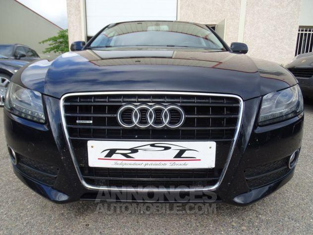 Audi A5 Sportback 3.0L TDI 240Ps V6 Sportback/PDC Bixénon  GPS Bluetooth  Cd .... noir metallisé Occasion - 5