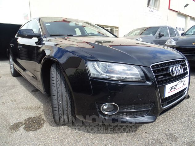Audi A5 Sportback 3.0L TDI 240Ps V6 Sportback/PDC Bixénon  GPS Bluetooth  Cd .... noir metallisé Occasion - 6