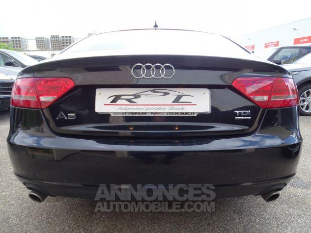 Audi A5 Sportback 3.0L TDI 240Ps V6 Sportback/PDC Bixénon  GPS Bluetooth  Cd .... noir metallisé Occasion - 8