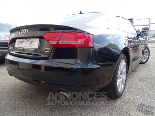 Audi A5 Sportback 3.0L TDI 240Ps V6 Sportback/PDC Bixénon  GPS Bluetooth  Cd .... noir metallisé Occasion - 9