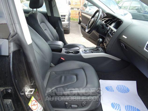 Audi A5 Sportback 3.0L TDI 240Ps V6 Sportback/PDC Bixénon  GPS Bluetooth  Cd .... noir metallisé Occasion - 11