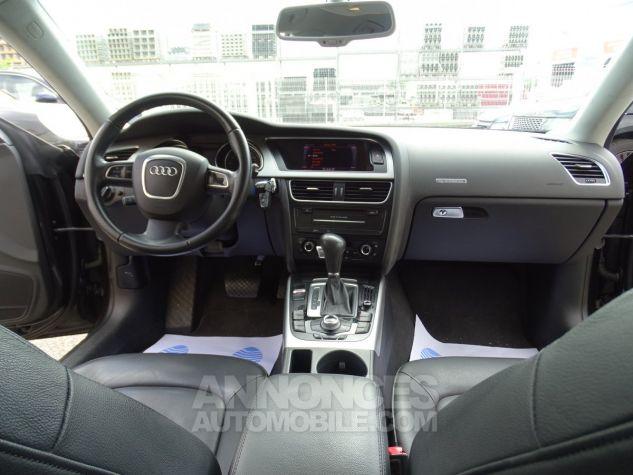 Audi A5 Sportback 3.0L TDI 240Ps V6 Sportback/PDC Bixénon  GPS Bluetooth  Cd .... noir metallisé Occasion - 14