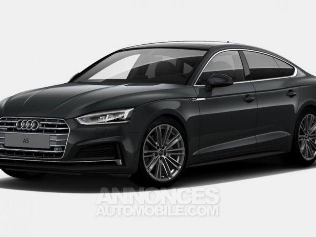 Audi A5 Sportback V6 3L TDI Full S line 2018 gris métallisé Occasion - 0