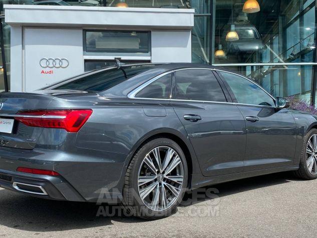 Audi A6 45 V6 3.0 TDI 231 ch Quattro Tiptronic 8 S line Gris Occasion - 3