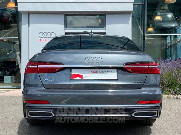 Audi A6 45 V6 3.0 TDI 231 ch Quattro Tiptronic 8 S line Gris Occasion - 4