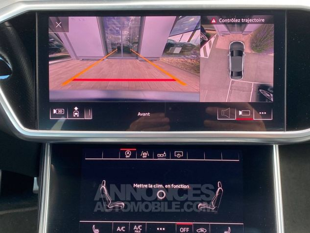 Audi A6 45 V6 3.0 TDI 231 ch Quattro Tiptronic 8 S line Gris Occasion - 8