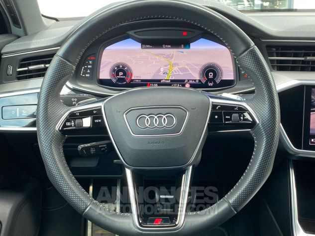 Audi A6 45 V6 3.0 TDI 231 ch Quattro Tiptronic 8 S line Gris Occasion - 9