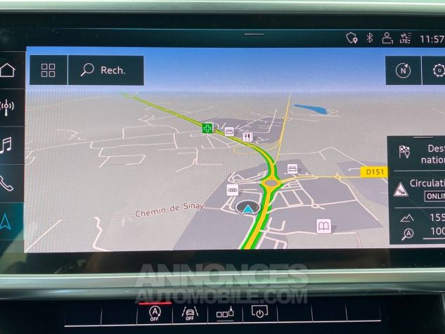 Audi A6 45 V6 3.0 TDI 231 ch Quattro Tiptronic 8 S line Gris Occasion - 13