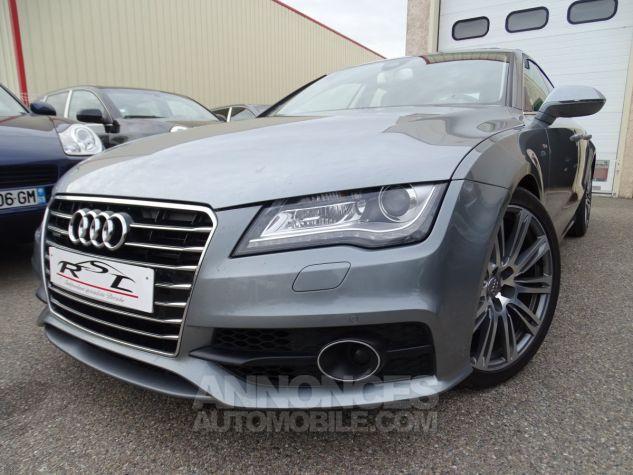 Audi A7 Sportback A7 TDI 3.0L 245PS BVA S LINE/FULL OPTIONS Véhicule Français  gris avus Occasion - 1