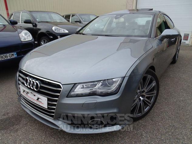 Audi A7 Sportback A7 TDI 3.0L 245PS BVA S LINE/FULL OPTIONS Véhicule Français  gris avus Occasion - 2