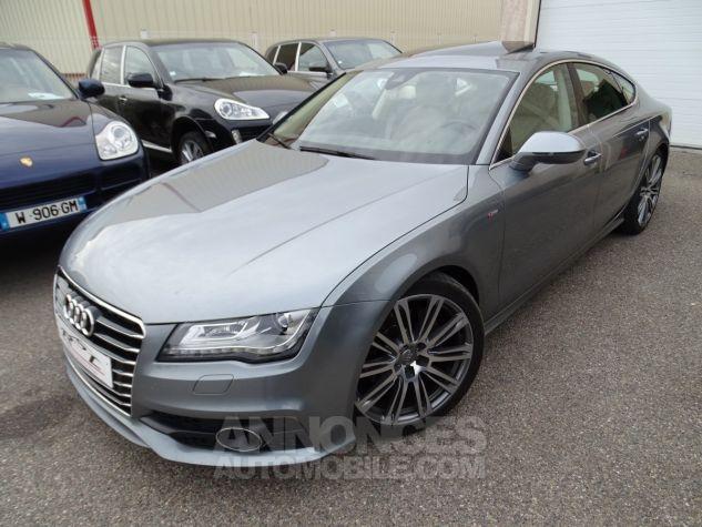 Audi A7 Sportback A7 TDI 3.0L 245PS BVA S LINE/FULL OPTIONS Véhicule Français  gris avus Occasion - 3