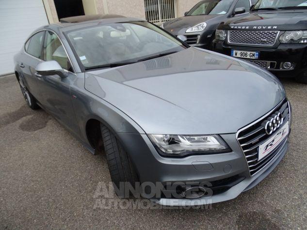 Audi A7 Sportback A7 TDI 3.0L 245PS BVA S LINE/FULL OPTIONS Véhicule Français  gris avus Occasion - 4